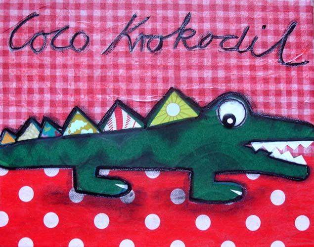 Augenreisen - Coco Krokodil